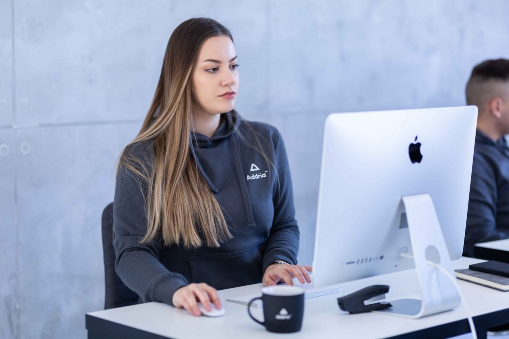 IT Staff Augmentation Company Addria Female Developer