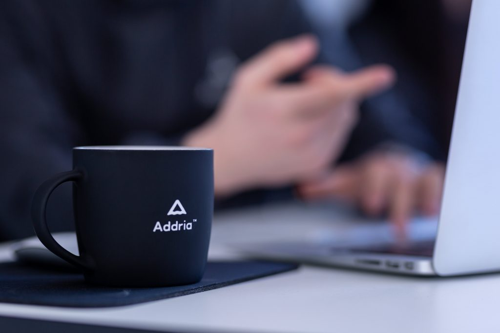 Addria coffee mug