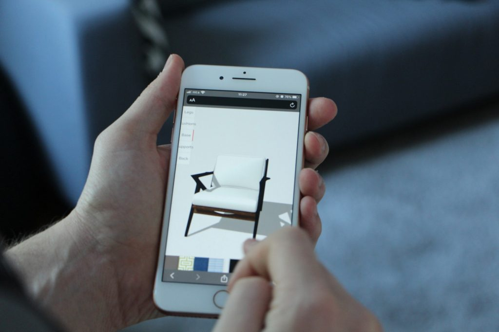 Furniture Shopping with Augmented Reality (AR)