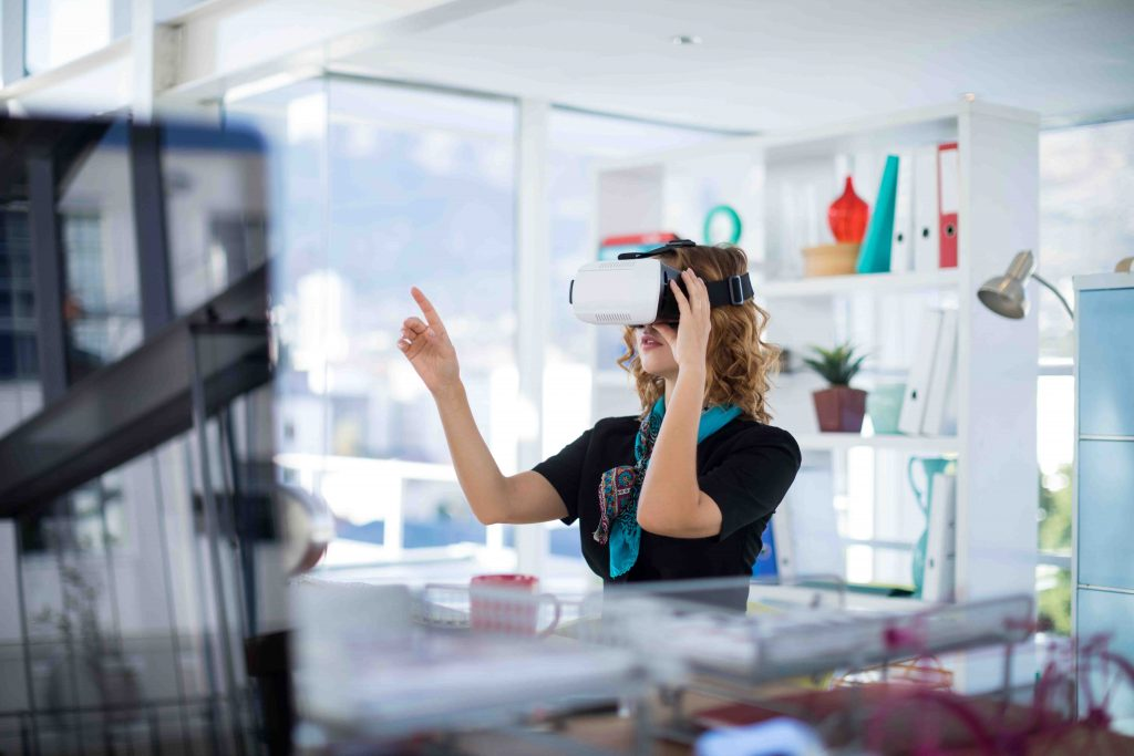 Immersive Augmented Reality Headset AR WebAR