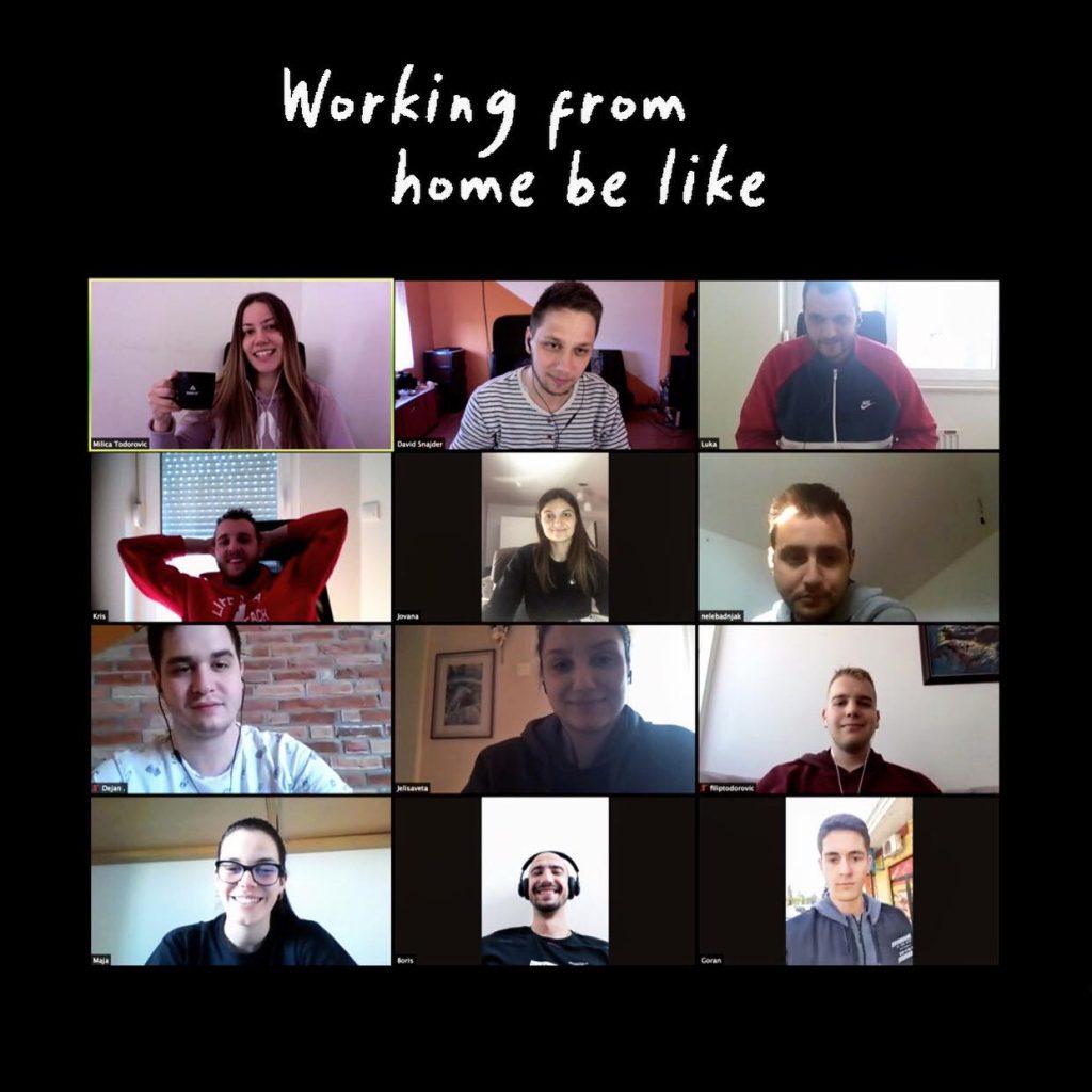 addria team online meeting remote work